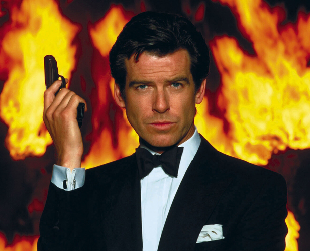 GoldenEye (1995) Directed by Martin Campbell Shown: Pierce Brosnan (as James Bond)