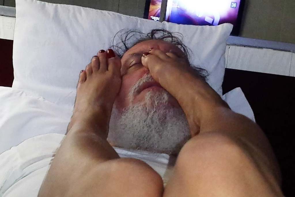 Rev. George Passias Foot Fetish video