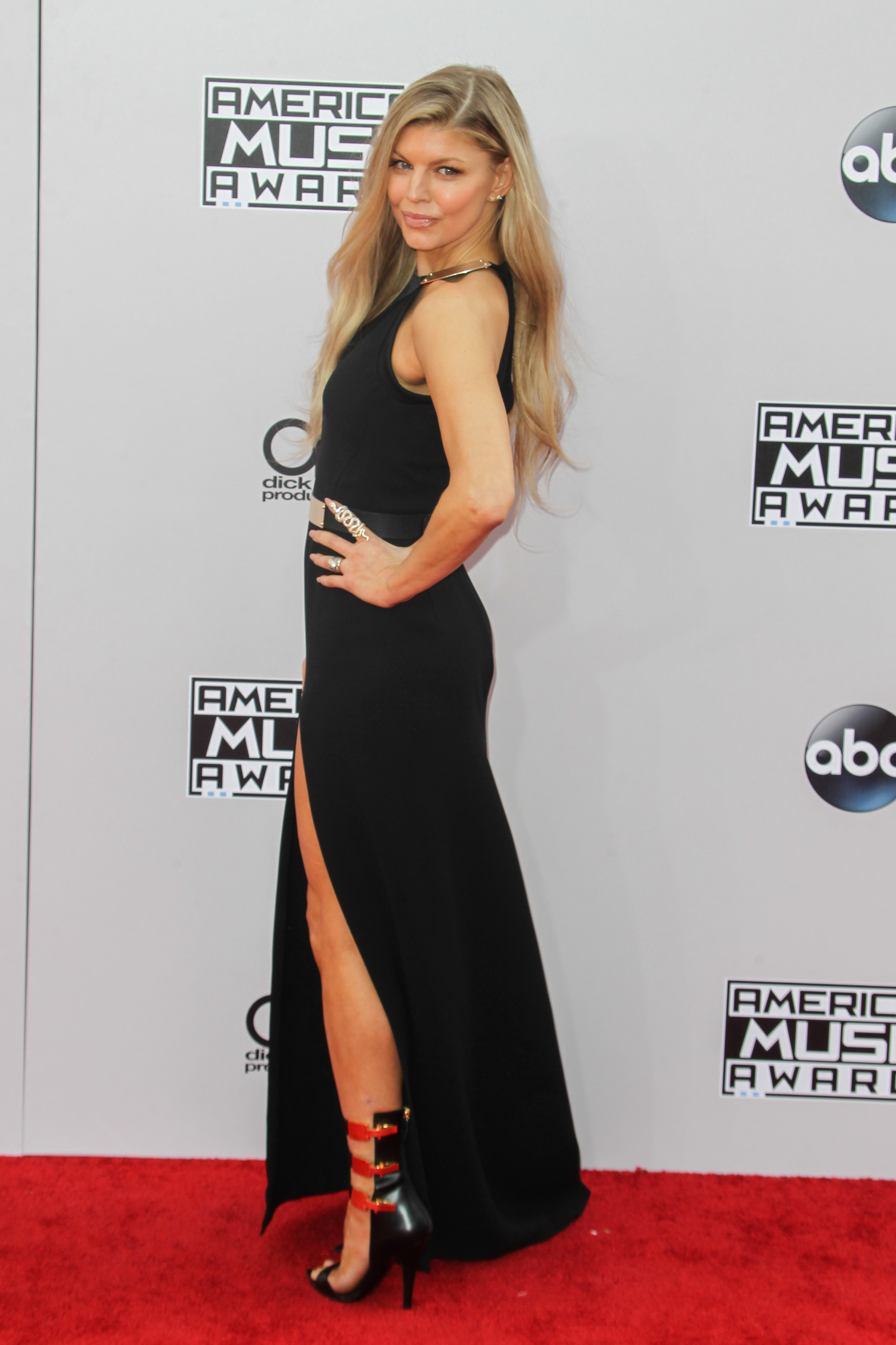 American Music Awards (AMA) 2014 held at Nokia Theatre LA Live - Arrivals Featuring: Fergie Where: Los Angeles, California, United States When: 23 Nov 2014 Credit: FayesVision/WENN.com