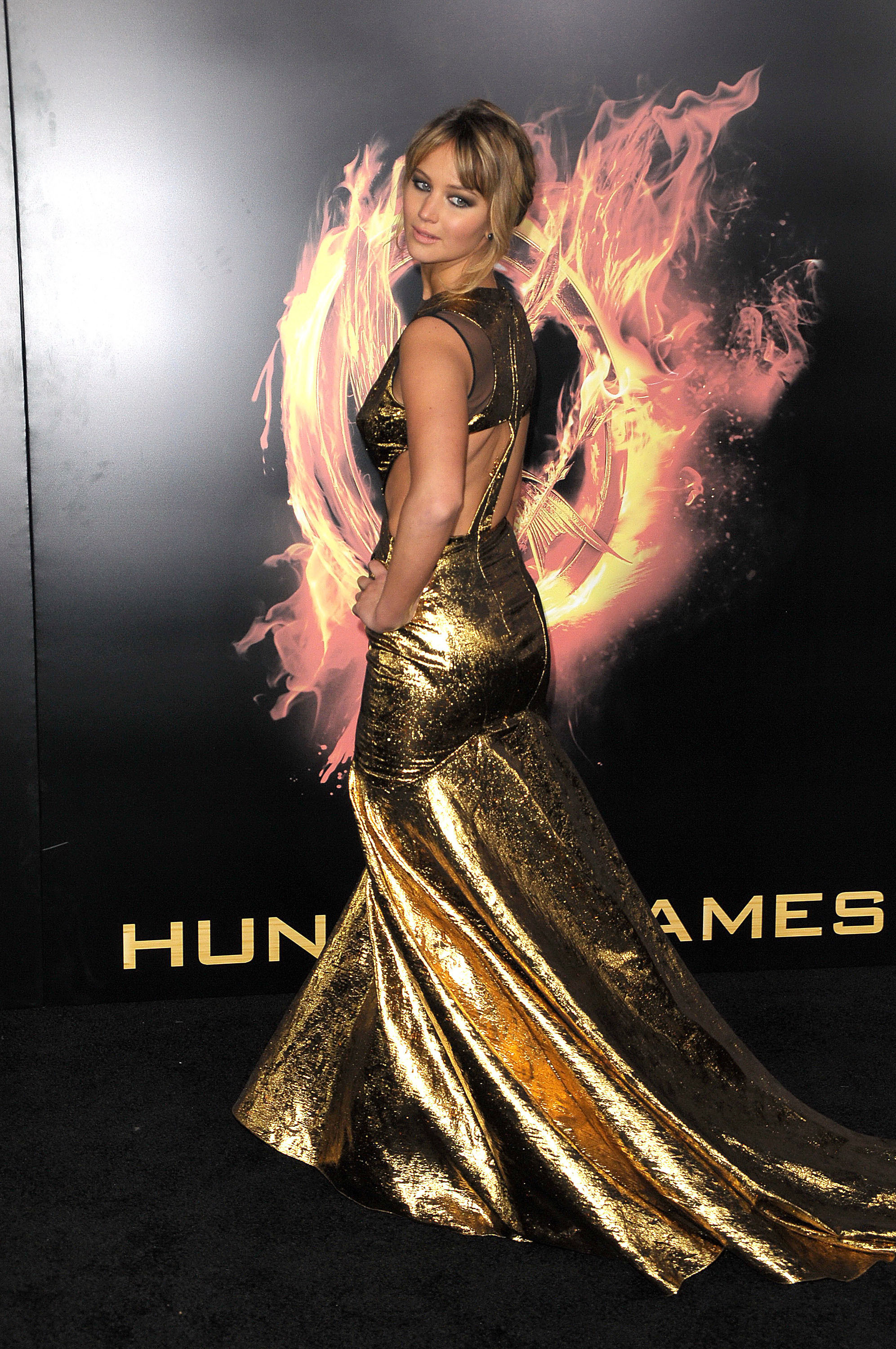 Jennifer Lawrence World Premiere of 'THE HUNGER GAMES' held at Nokia Theatre L.A. Live - Arrivals Los Angeles, California - 12.03.12 Featuring: Jennifer Lawrence Where: California, United States When: 12 Mar 2012 Credit: WENN