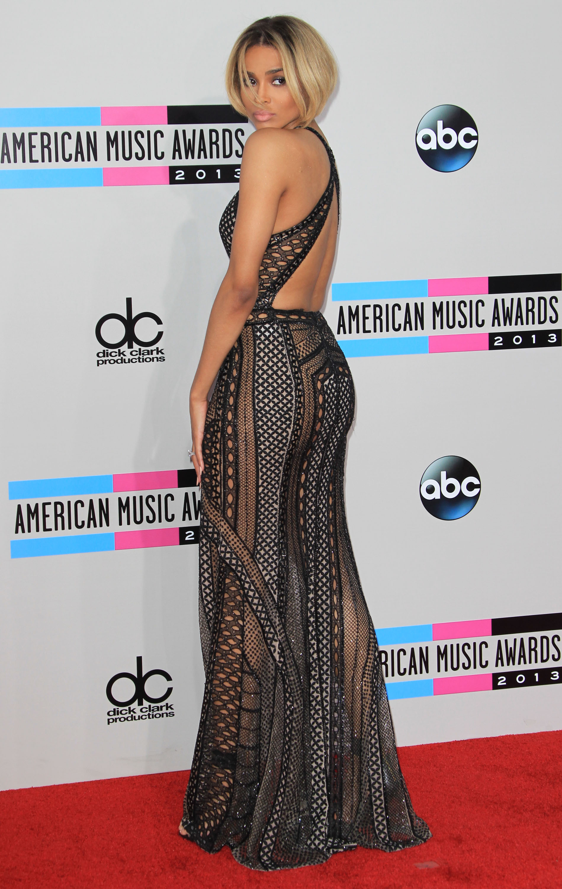2013 American Music Awards held at Nokia Theatre - Arrivals Featuring: Ciara Where: Los Angeles, California, United States When: 24 Nov 2013 Credit: Adriana M. Barraza/WENN.com