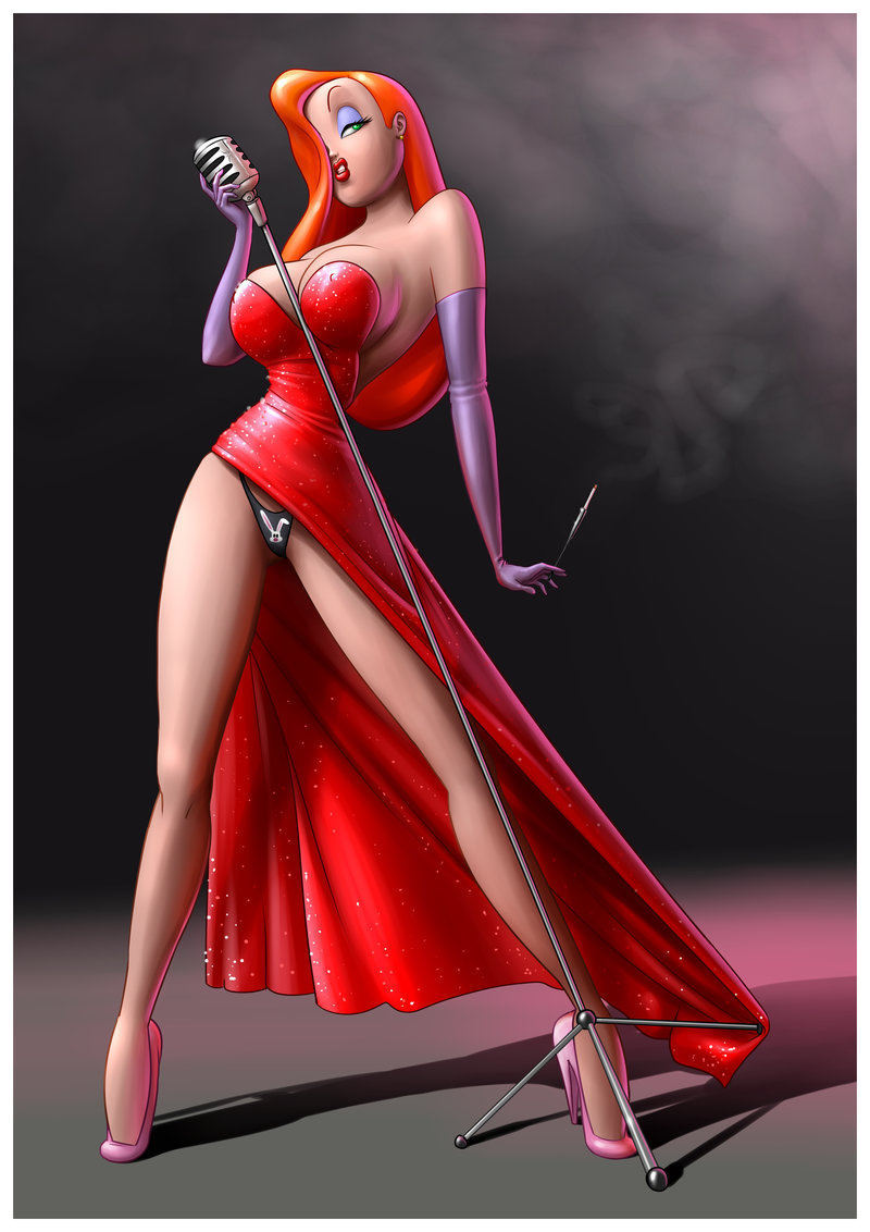 jessica_rabbit_pin_up_by_dominicabra-d8km8ov